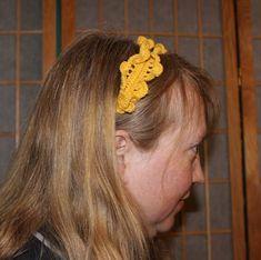 Ravelry: Sunny Headband pattern by Darlisa Riggs Crochet Crafts, Free Crochet, Headband Pattern, Elastic Hair Bands, Sunnies, Ravelry, Headbands, Knitted Hats, Crochet Patterns