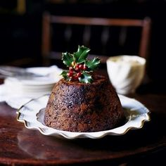Plum Pudding with Hard Sauce