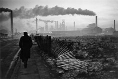 'Early morning, West Hartlepool, County Durham, U.K.' by Don McCullin, 1963