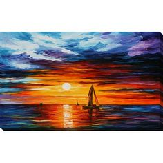 Frame Landscape DIY Oil Digital Painting By Numbers Kit Modern Wall Art Picture By Numbers Acrylic Canvas Painting Home Decor Oil Painting Texture, Texture Art, Oil Painting On Canvas, Canvas Wall Art, Painting Clouds, Boat Painting, Knife Painting, Acrylic Canvas, Canvas Canvas