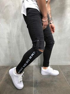 Men and Women's Fashion Casual Wear, Casual Outfits, Men Casual, Fashion Outfits, Cool Outfits For Men, Striped Jeans, High Fashion, Mens Fashion, Mens Clothing Styles