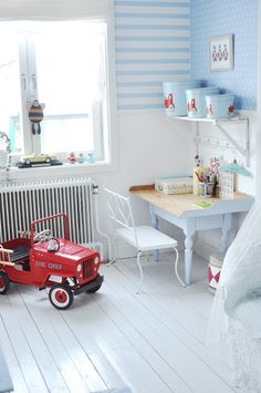 Boy'r room decor idea