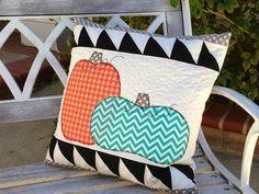 Modern Pumpkin Pillow Tutorial