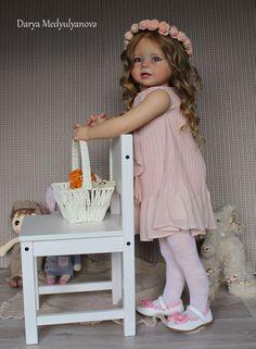 ***Realistic girl doll reborn toddler~ Bonnie by Linda Murray***