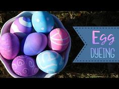 8 Ways To Dye Easter Eggs How To Dye Easter Eggs - YouTube