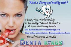 COSMETIC DENTISTRY AT DENTAKINGS: Strong teeth - Dental tips