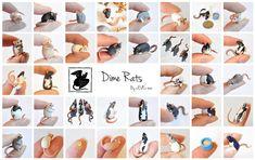 Dime Rats by nEVEr-mor.deviantart.com on @deviantART