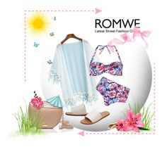 """""""ROMWE"""" by marinadusanic ❤ liked on Polyvore featuring Dorothy Perkins and Kate Spade"""