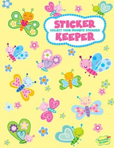 Peaceable Kingdom Pink Pirate Sticker Pack Mindware