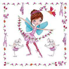 ©Cartita Design #ballet #greetingcards #girl #ballerina #fairytale #butterflies - Google Search