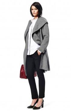 V neck sweater adolfo dom nguez pinterest women for Adolfo dominguez womens coats