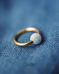 belly ring septum ring belly button ring septum piercing belly jewelry septum piercing gold white fire opal simple base unique minimalist