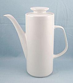 Studio - J & G Meakin Coffee Pot – White