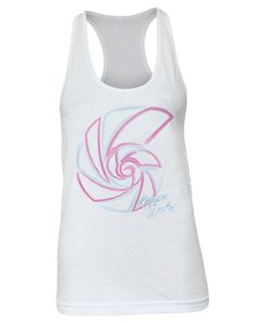 "Kappa Delta Nautilus Shell Racerback Tank Adam Block Design - Use code ""fsuKL1001"" for 10% off your first order and 5% off every order after!"