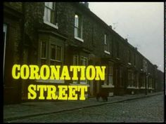 "Theme for Coronation Street.  I've watched this show all my life.  I can remember my mother ironing and watching this show in black and white on a 13"" t.v.  It's such a part of me that I contacted a friend of the composer to send me copies to use as the first dance at my wedding!"