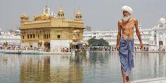 Amritsar mit Goldenem Tempel in Punjab