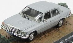 EDICOLA BONDCOL120 Skala: 1/43  MERCEDES BENZ 450SEL (W116) 1974 - 007 JAMES BOND - FOR YOUR EYES ONLY SILVER Skala:: 1/43 Zustand: M Code: BONDCOL120 Farbe: SILVER Material: Die-Cast