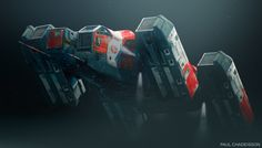 ArtStation - Vector Space program, Paul Chadeisson