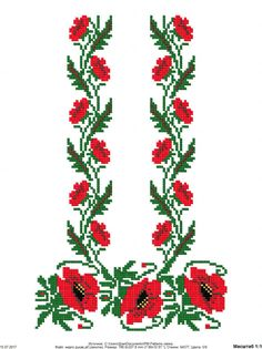Cross Stitch Rose, Cross Stitch Flowers, Christmas Pillow, Christmas Cross, Cross Stitch Designs, Cross Stitch Patterns, Crochet Stitches, Poppies, Embroidery