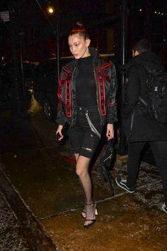 Model Bella Hadid is seen walking in Soho on February 10 2017 in New York City