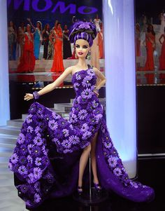 Miss Venezuela 2013/14 by Ninimomo Dolls