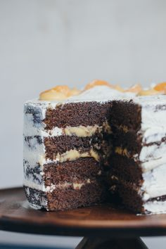 Chocolate Buttermilk Layer Cake with Mandarin Curd-22