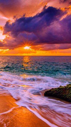 Sunset Wallpaper, Nature Wallpaper, Iphone Wallpaper, Beautiful Sunrise, Beautiful Beaches, Landscape Photography, Nature Photography, Night Photography, Landscape Photos