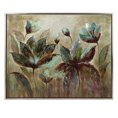 Fragrant Bloom Framed Oil Painting