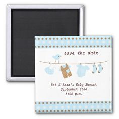 Baby Shower Save the Date... needs to be pink though :)