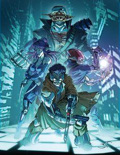 Shadowrun by Bisart.deviantart.com on @deviantART