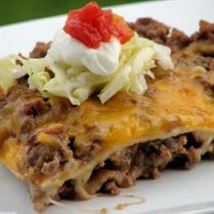Burrito Pie Allrecipes.com