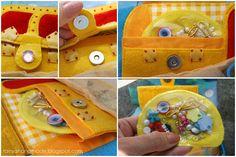 Танины рукодельности: Книжка для маленькой девочки Калисты treasure chest on an ocean page
