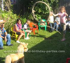 Take a look at the coolest birthday theme party ideas - decorations, printables, games, party foods, cakes and more for an unforgettable party. Cowboy Party Games, Cowboy Theme Party, Cowboy Birthday Party, Horse Birthday, Birthday Party Themes, Wild West Theme, Wild West Party, Game Ideas, Party Ideas