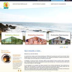 Création du nouveau site Internet de l'Office de Tourisme de Préfailles. www.tourisme-prefailles.fr