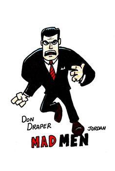 Angry Don Draper.
