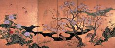 Gorgeous Panels: #Cherry #Blossoms, #Cranes, etc