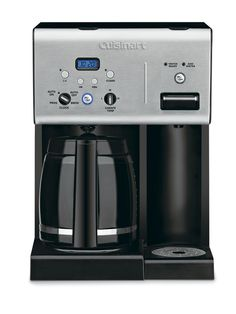 I already have a Cuisinart coffee maker, but this new model looks even more amazing. does coffee AND hot water for tea