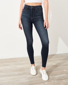 Integrity's Home Damen Jeans Dark Blue röhrenjeans Stretch
