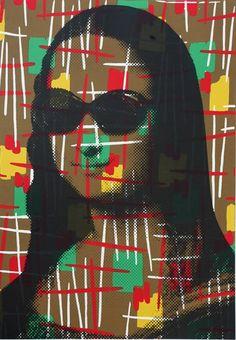 Mr. Brainwash  - Vintage Mona Lisa, 2009