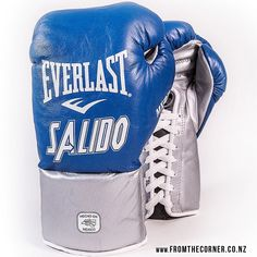 Custom-made Everlast boxing gloves for Orlando Salido. Everlast Boxing Gloves, Skipping Rope, Mma Equipment, Gym Gear, Gym Workouts, Orlando, Custom Made, Fitness, Bags