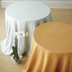Suzanne Kasler Signature 13oz Linen Tablecloth