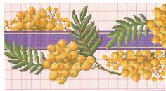 Cross Stitch Borders, Cross Stitch Patterns, Magnolia Flower, Table Toppers, Le Point, Cactus Plants, Tapestry, Map, Crafty