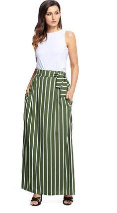 8e4e2bd40ba Women's Autumn & Summer Long Skirt | High Waist Vintage Maxi Skirt –  zorket Funky