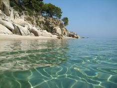 Greece, Halkidiki, Sithonia, Fava Beach
