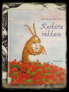Sininen keskitie: Kun äiti on hummaamassa, luetaan lohduttavia lastenkuvakirjoja
