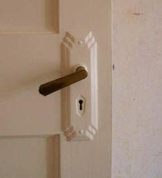 1930s Door Handle