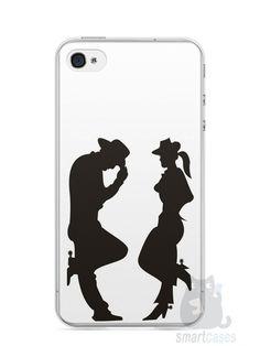 Capa Iphone 4/S Cowboy e Cowgirl - SmartCases - Acessórios para celulares e tablets :)