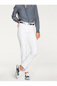 12cf099a68b Patrizia Dini Straight Leg Slim Fit White Jeans Size UK 10 DH087 QQ 09   fashion