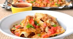 Spicy Ultimate Nachos: The ultimate football party appetizer starts with McCormick� Hot Taco Seasoning Mix. andlt