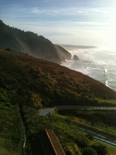 The view from Sea Lion Caves, Florence, Oregon, been here, worth the stop if you are in Oregon.